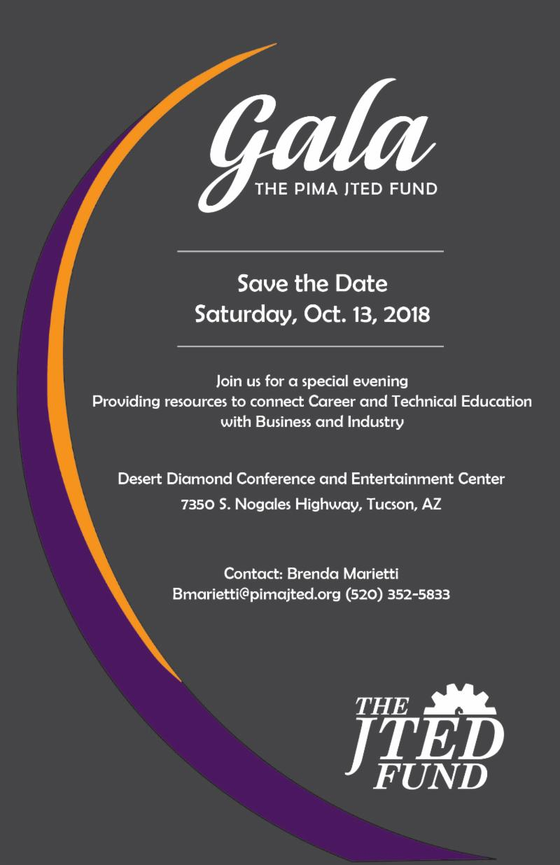 JTED gala invite