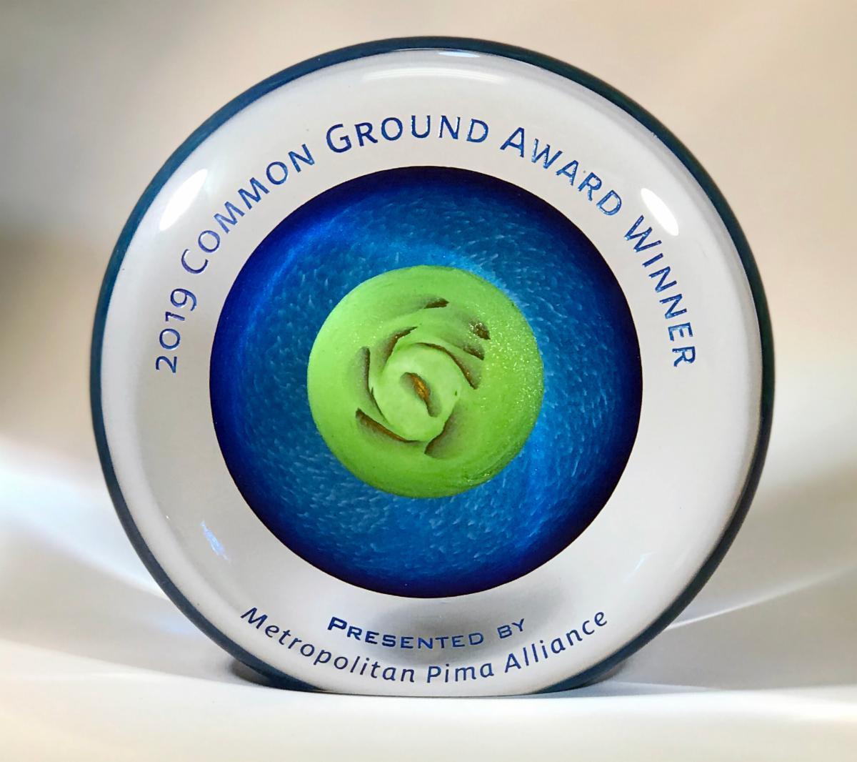 Common Ground award