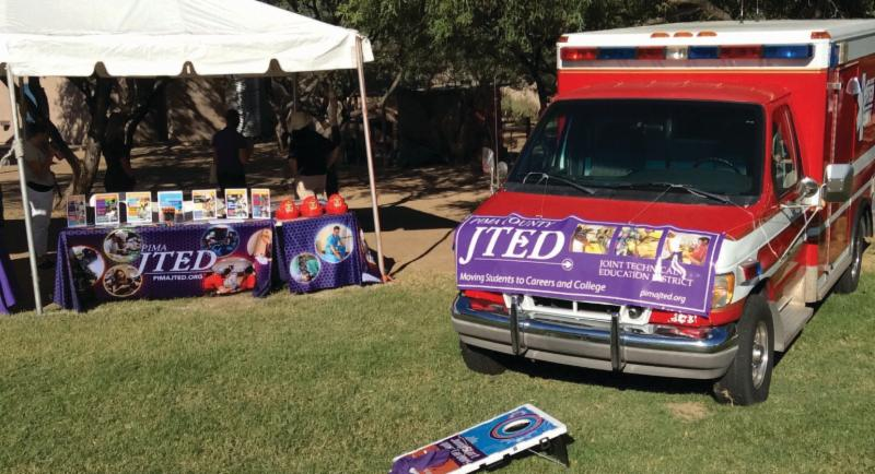 JTED booth at Tucson Classics Car Show