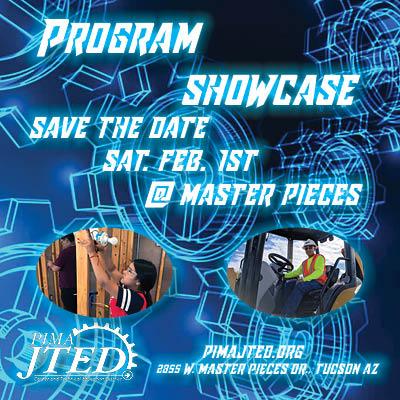 Program Showcase save the date Sat. Feb 1st