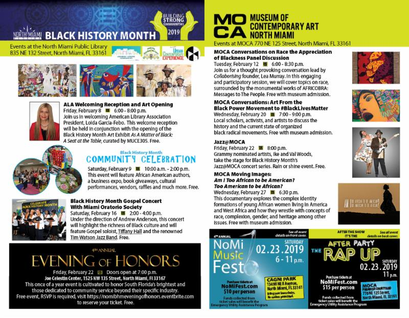112 IN CONCERT, ART EXHIBITS AND COMMUNITY BLOCK PARTY SET
