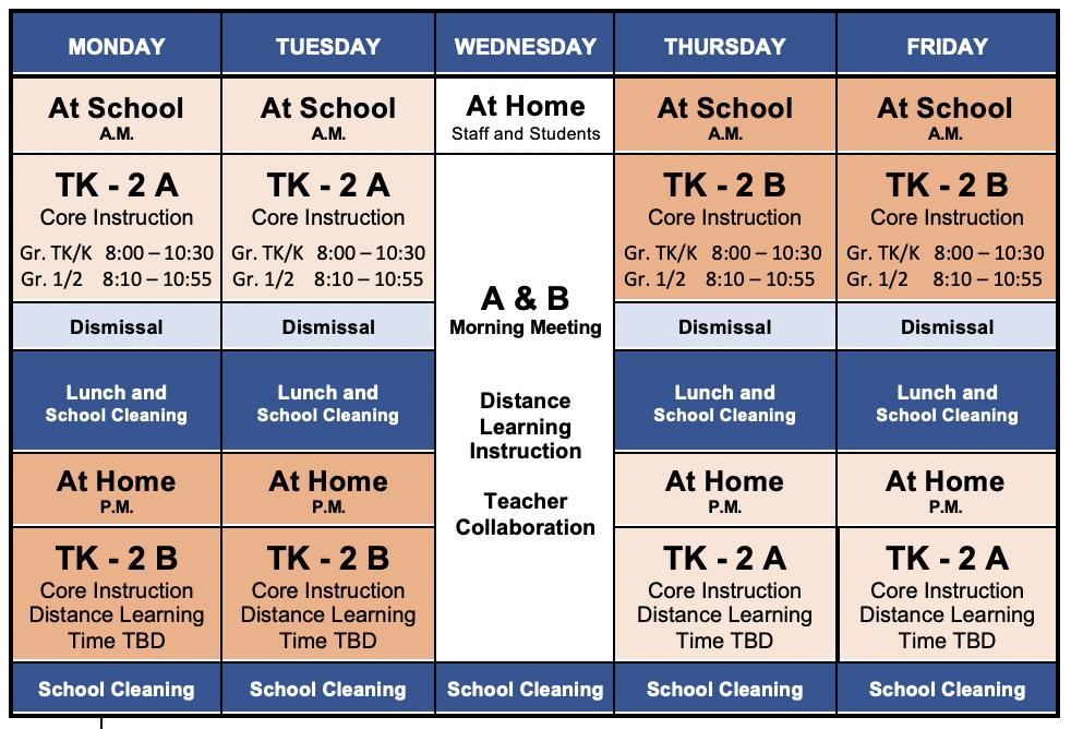 AABB schedule