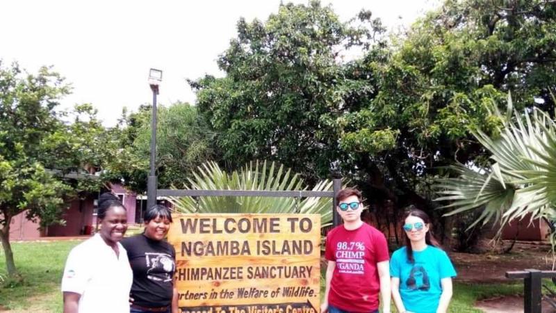 PHG China marketing Firm visit to Ngamba Island