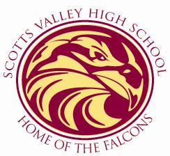Home of the Falcons Logo