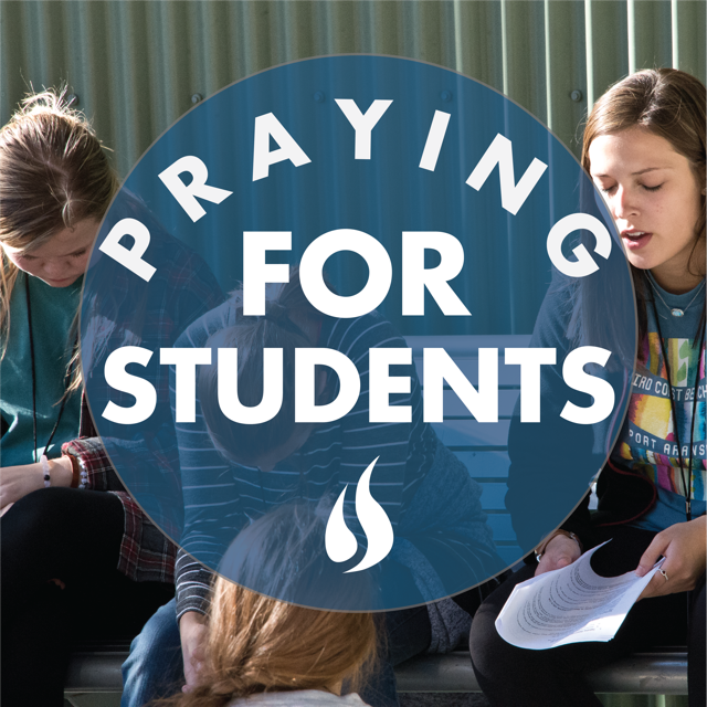 Praying for Students // Submit a Prayer Request