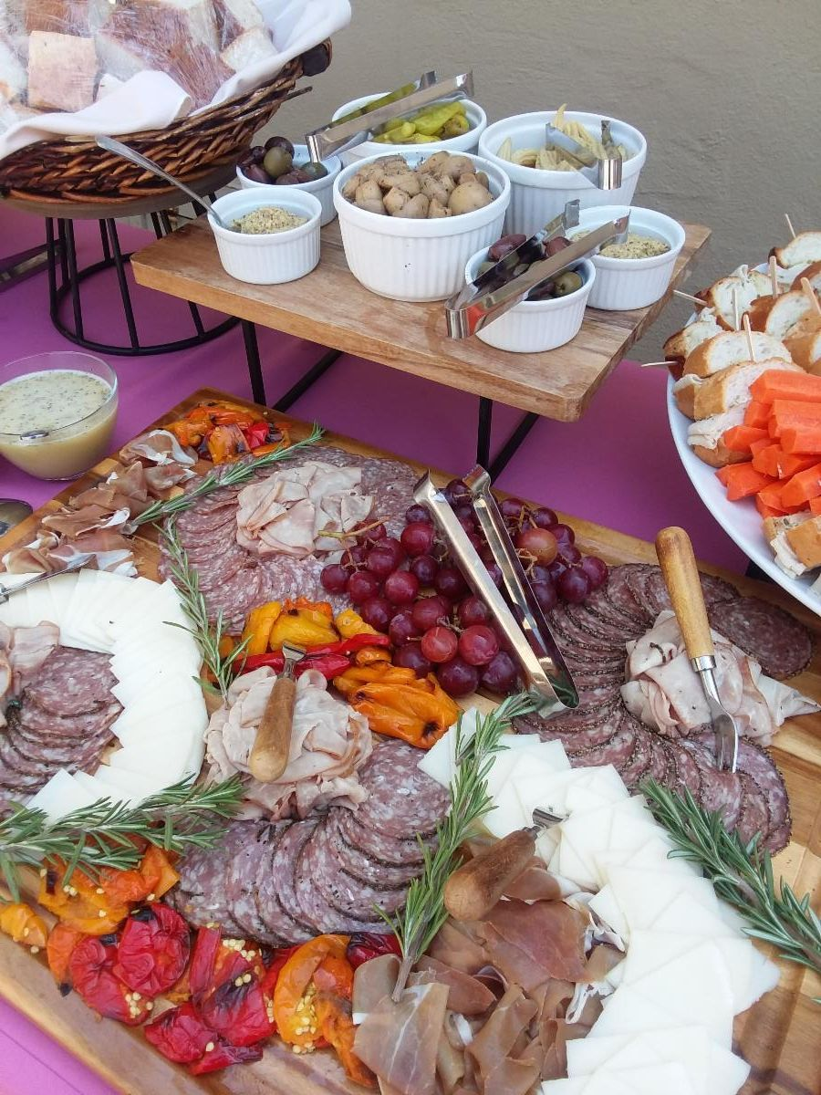 Charcuterie Board-Cheat A Little Catering
