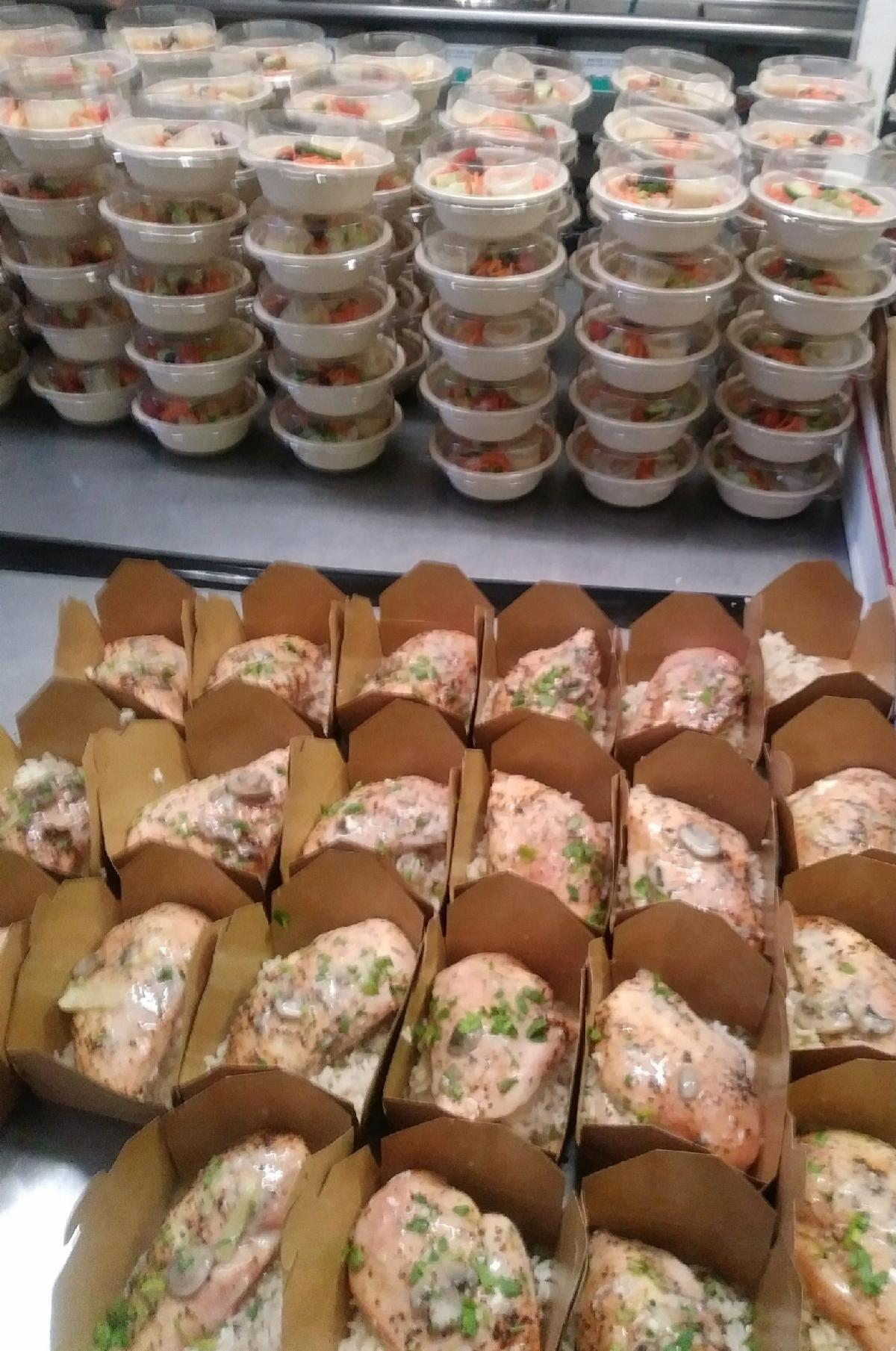 Box Meal-Dijon Chicken-Salad-Cheat A Little Catering