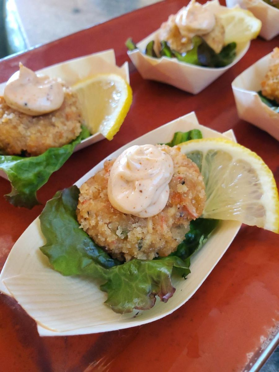 Baby Crab Cakes-Cheat A Little Catering