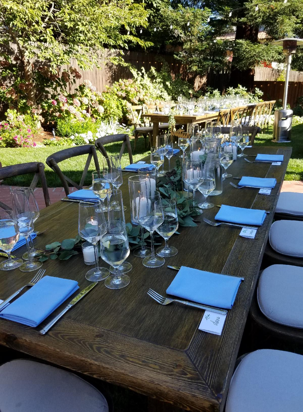 Outdoor Rustic Wedding-Cheat A Little Catering