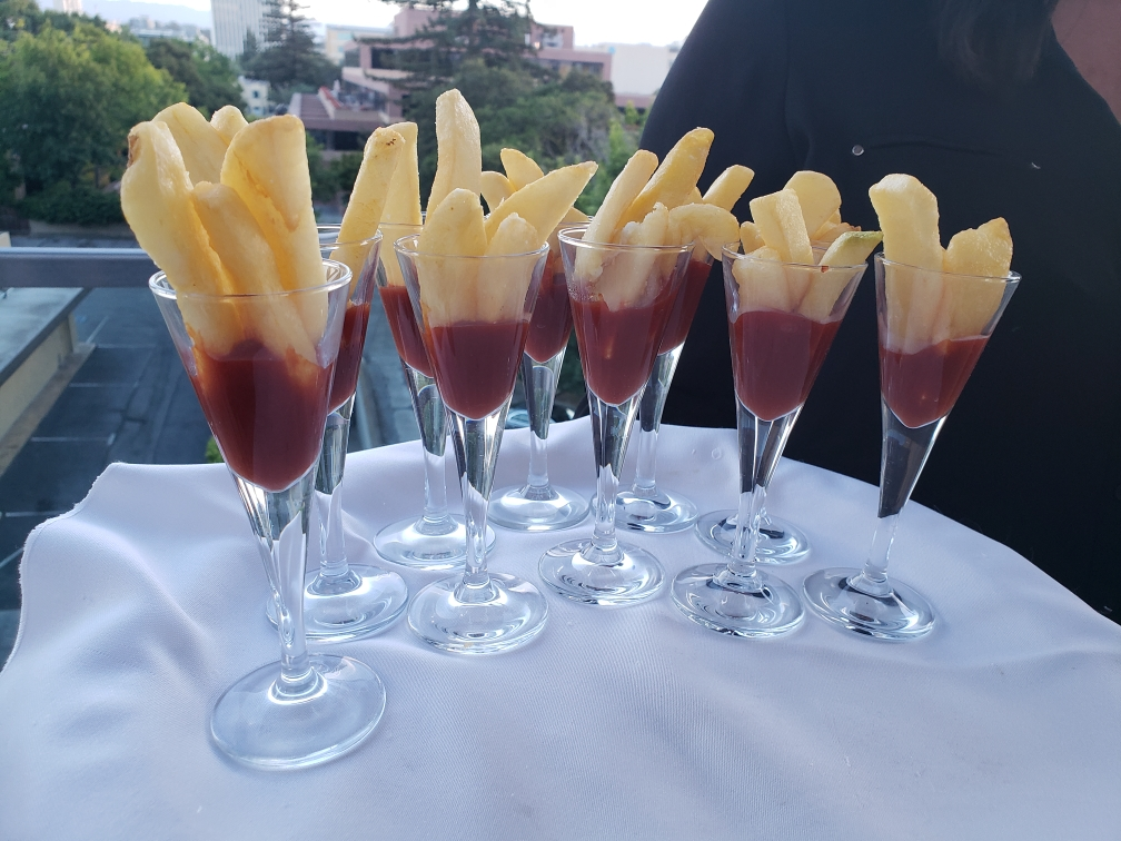 French Fries Appetizer-Cheat A Little Catering