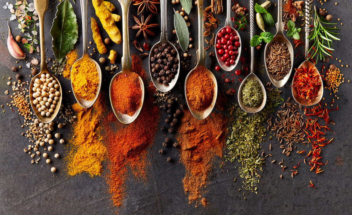 Spices-Spoons
