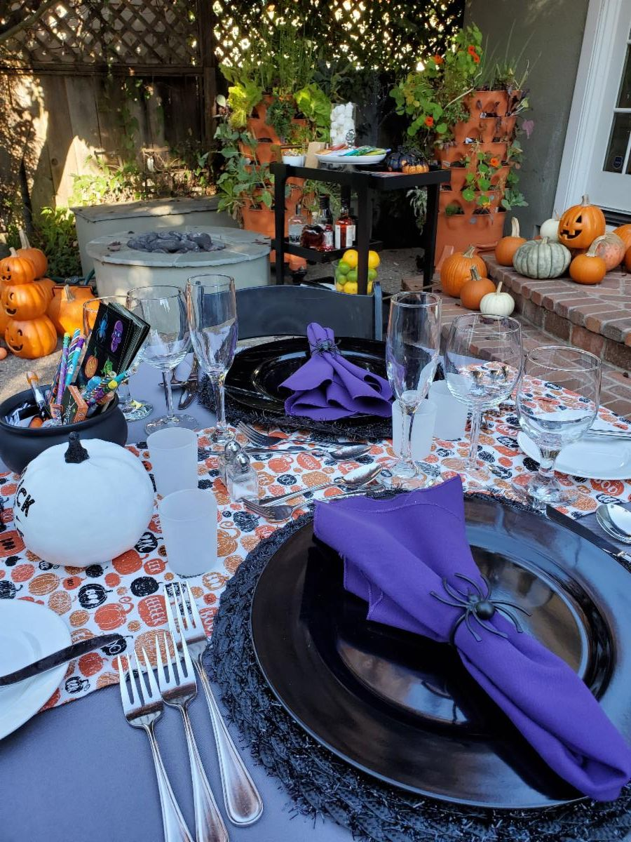 Halloween Party Table Dinner
