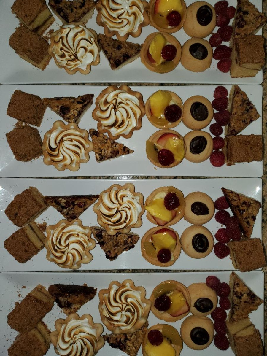 Dessert Plates-Family Style-Cheat A Little Catering