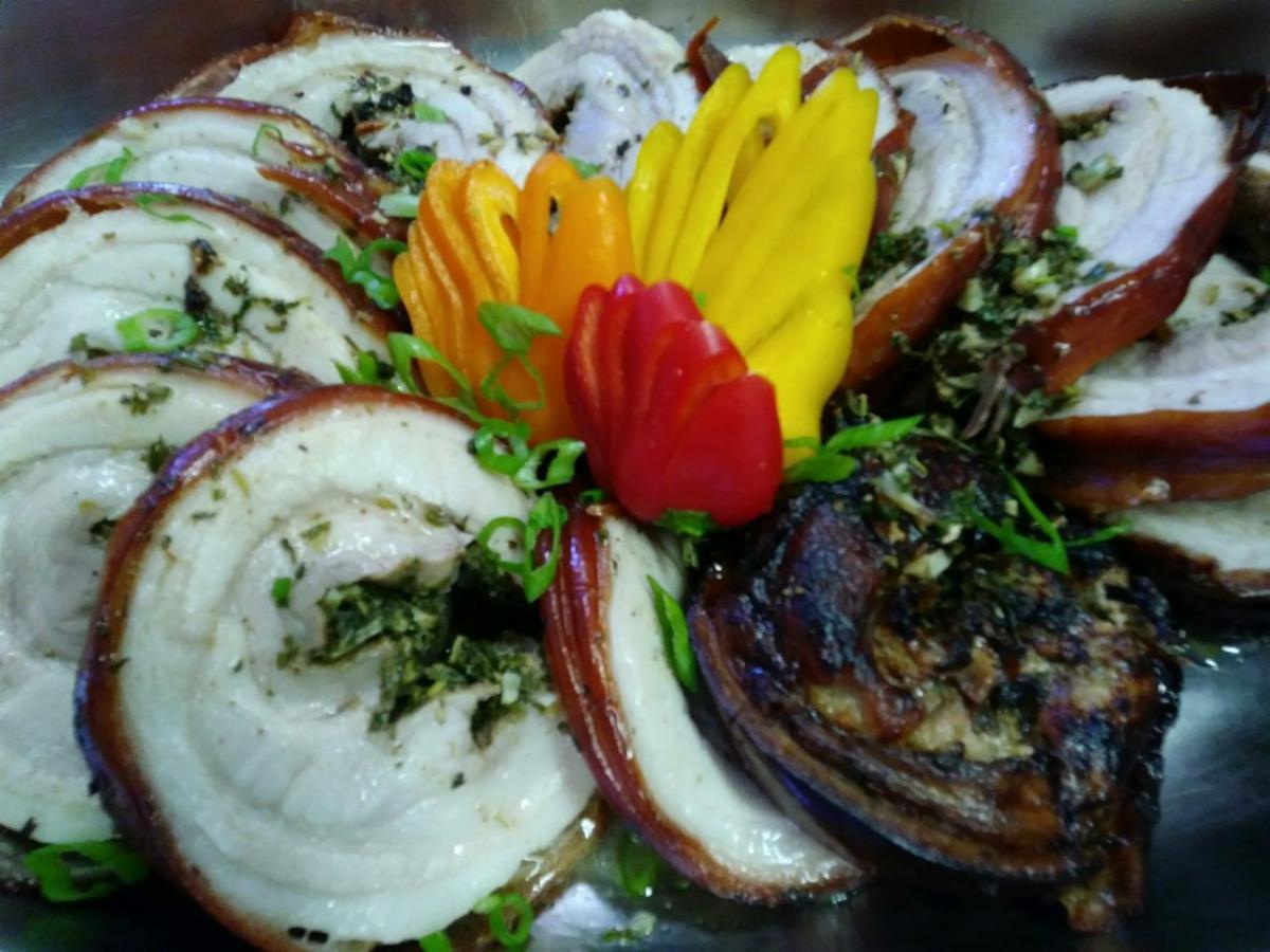 Porchetta Pork Roast-Cheat A Little Catering