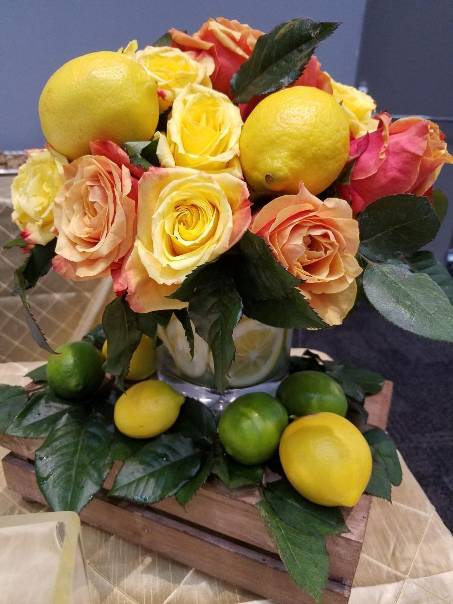 Fruit Floral Crate