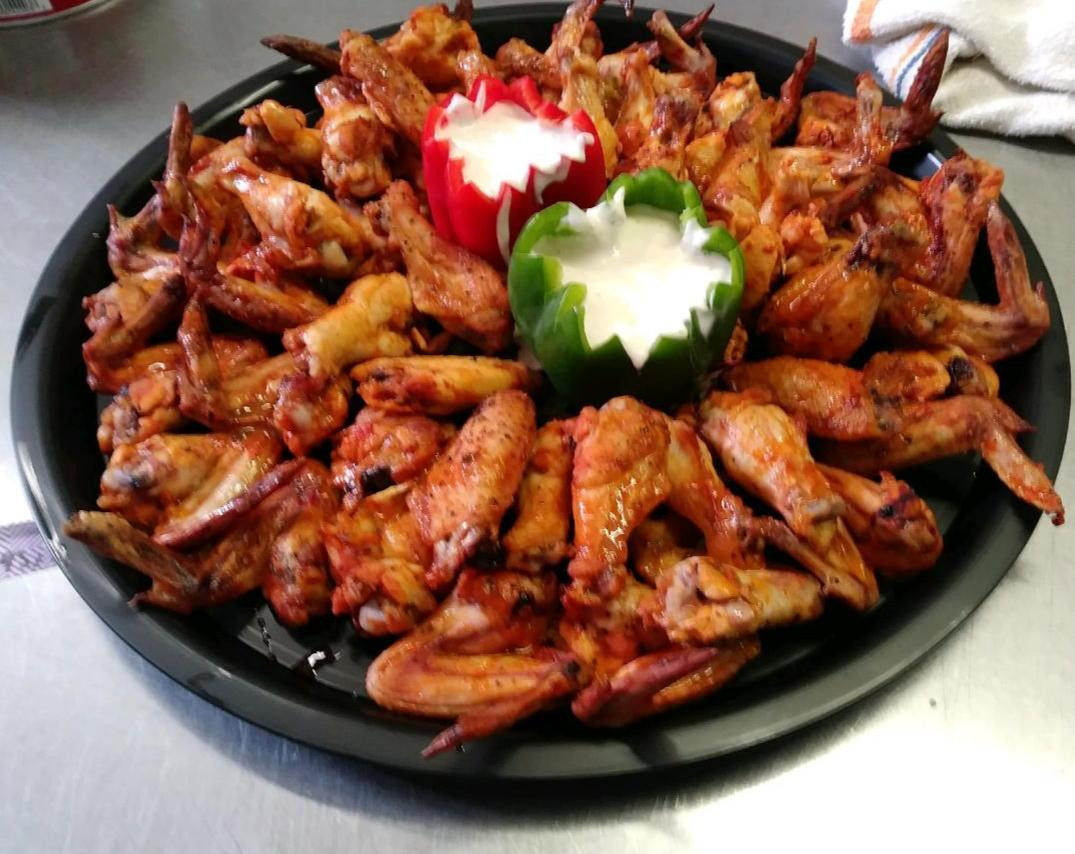 Grill Hot Wings-Cheat A Little Catering