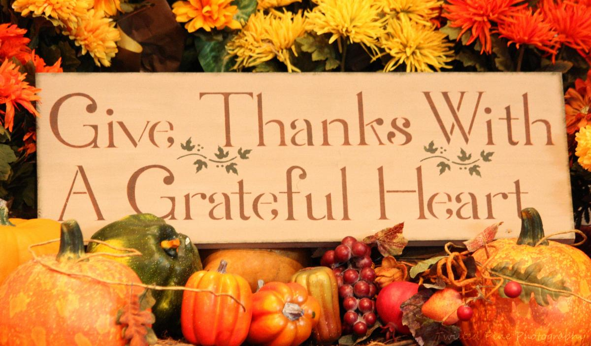 Give Thanks-Grateful Heart