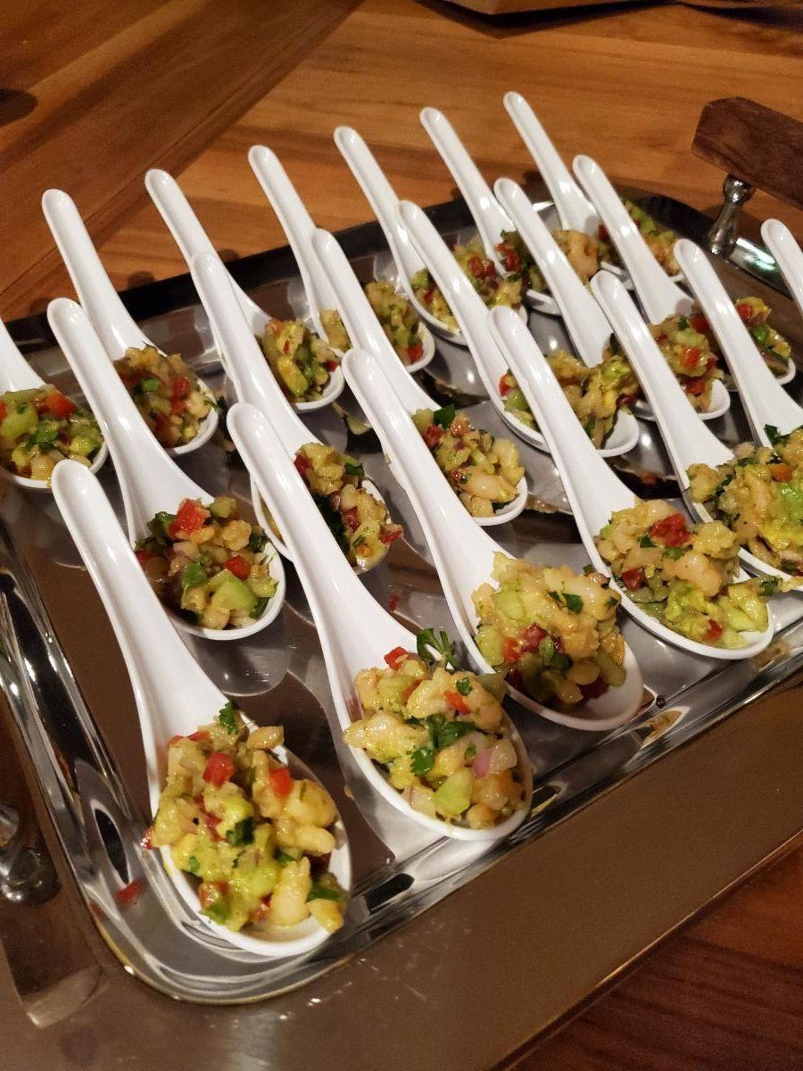Shrimp Ceviche-Cheat A Little Catering