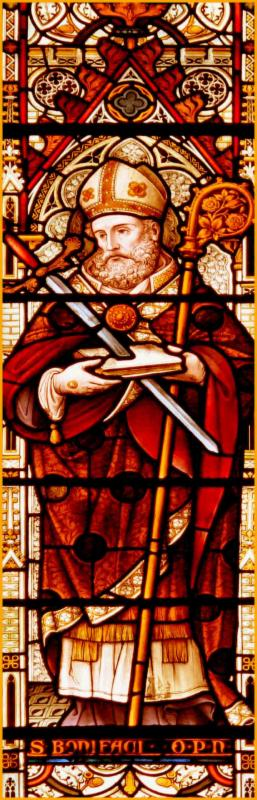 St. Boniface stained glass