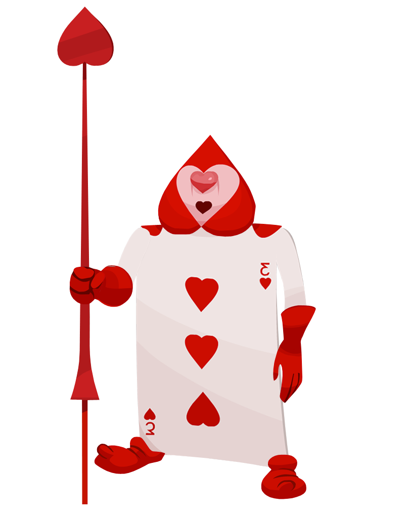 Queen of Hearts Soldier 2