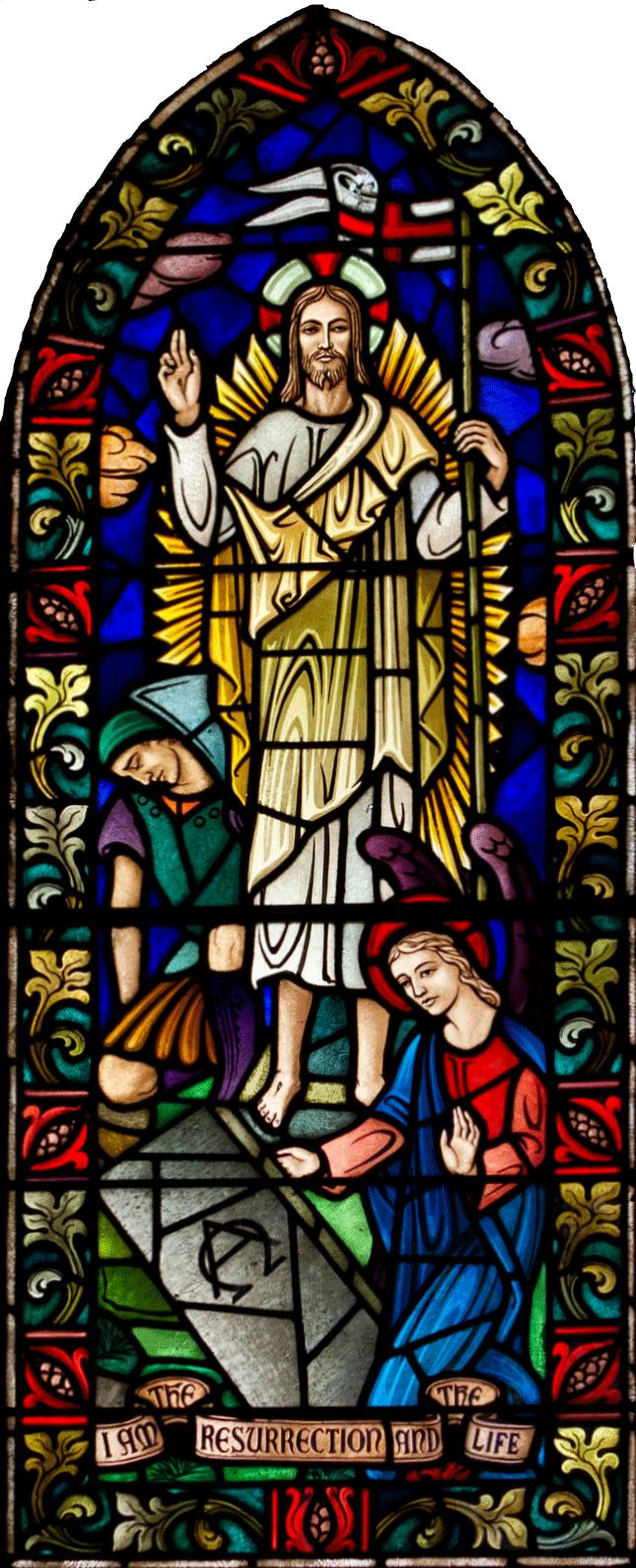 Chapel Window trimmed