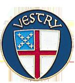 Vestry Lapel Pin trimmed