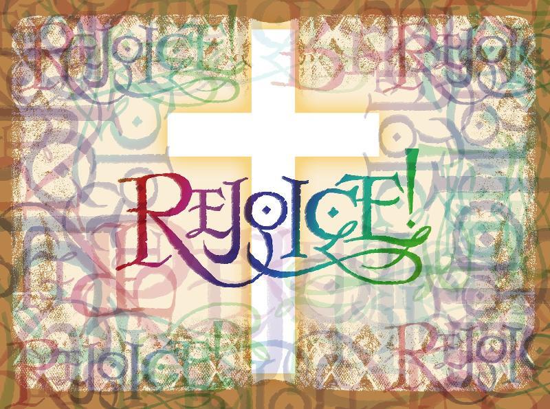Rejoice! Banner