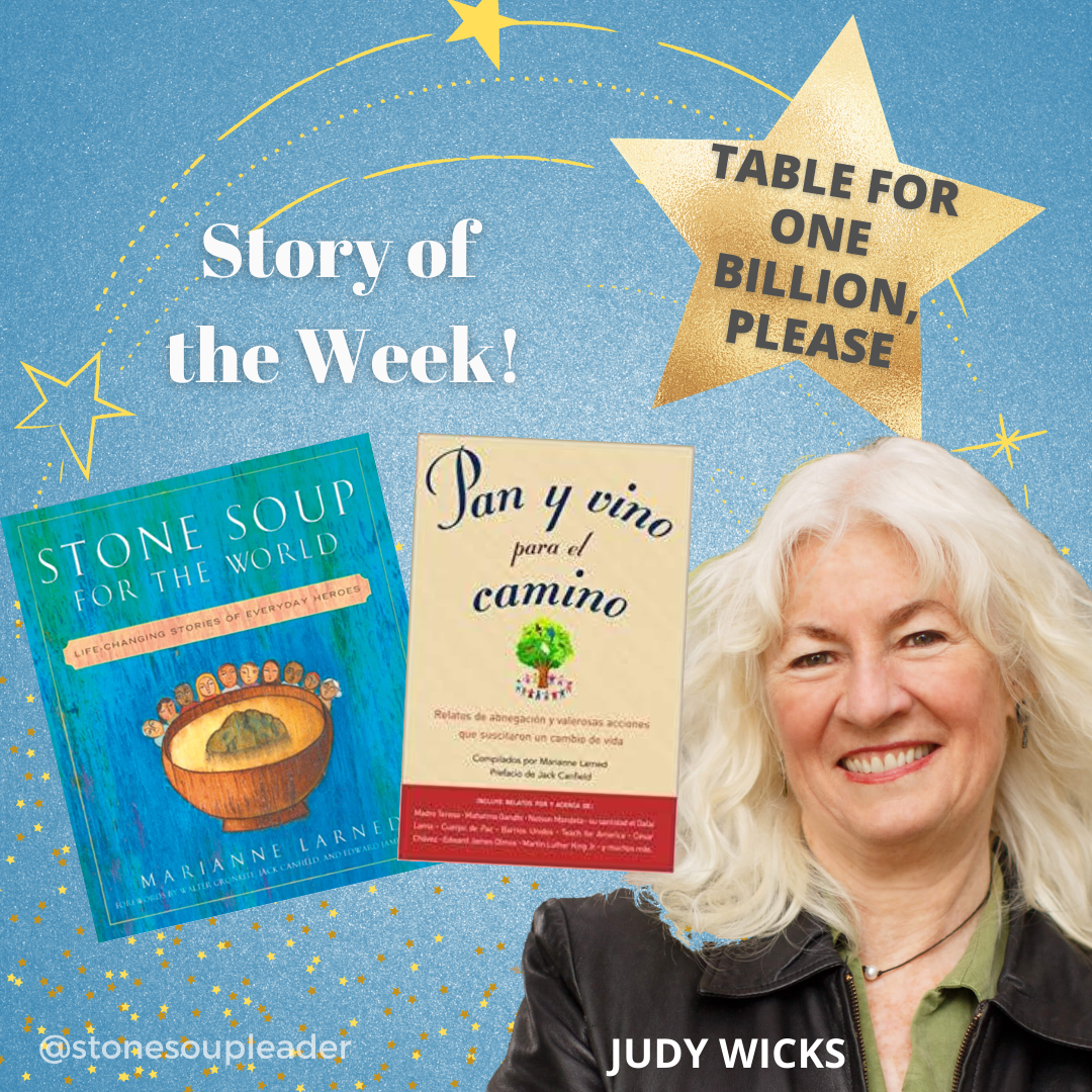 Judy Wicks story of the week, cover