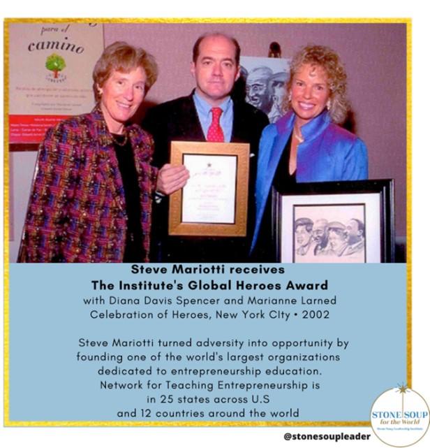 Walter Cronkite Award: Steve Mariotti