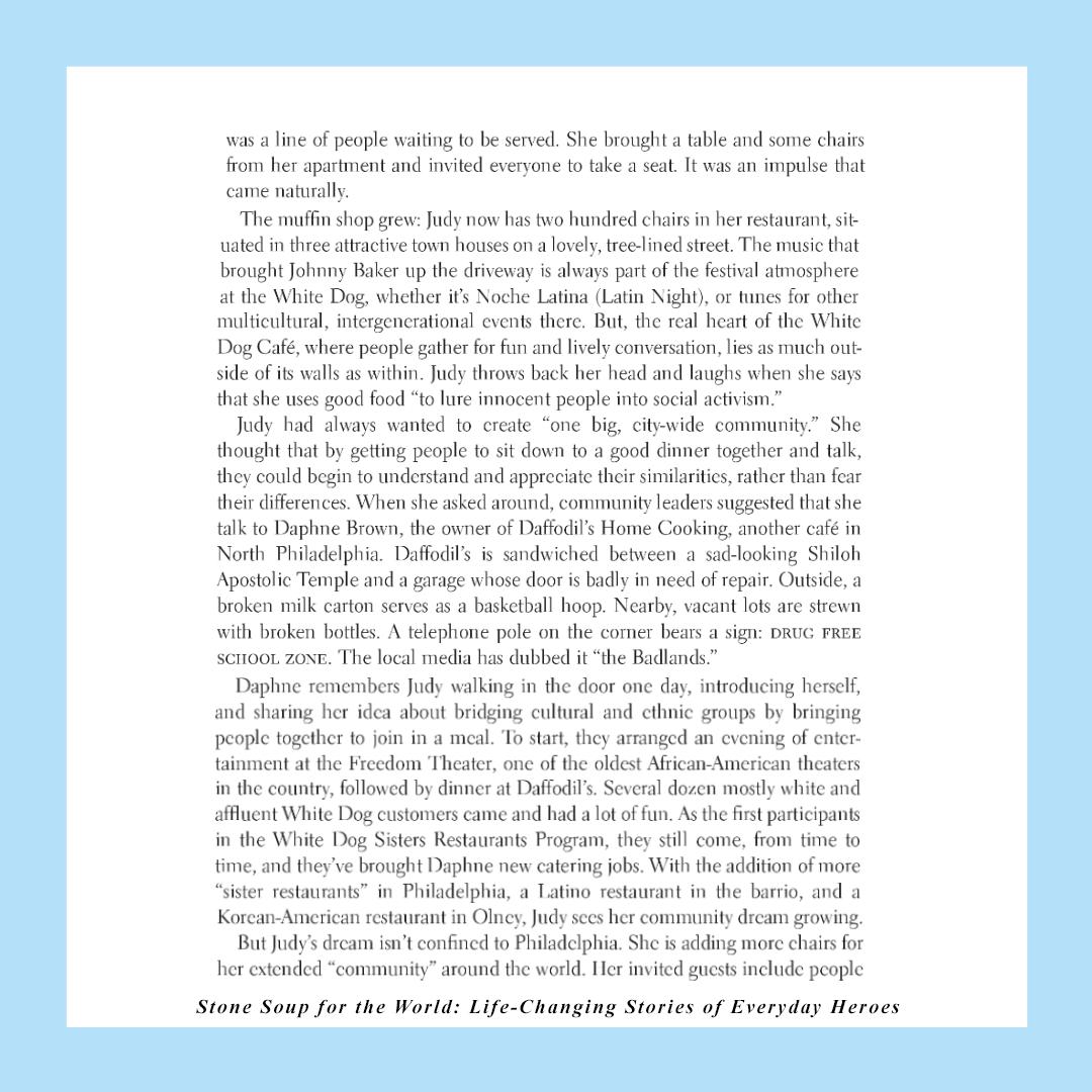 Judy Wicks story, page 2