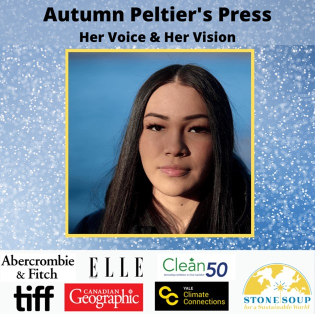 Autumn Peltier in the press