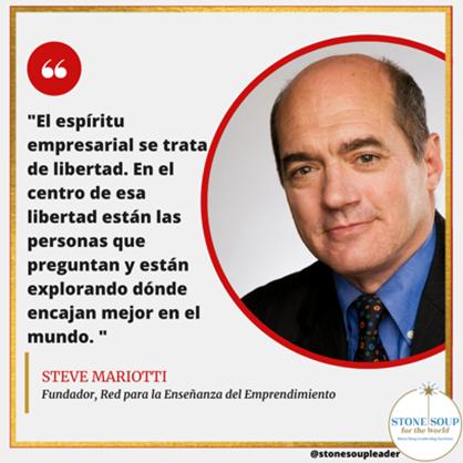 Steve Mariotti quote