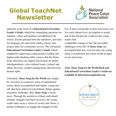 Global TeachNet newsletter, page 2