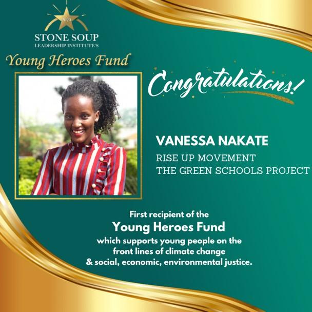 Vanessa, Young Heroes Fund recipient