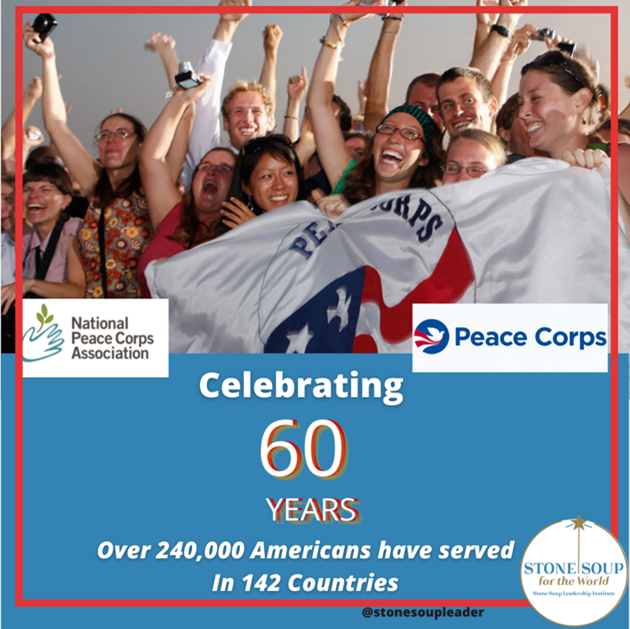 60th anniversary of the Peace Corps