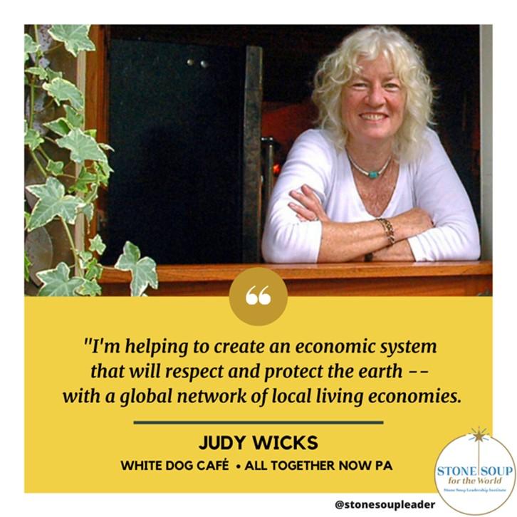Judy Wicks quote