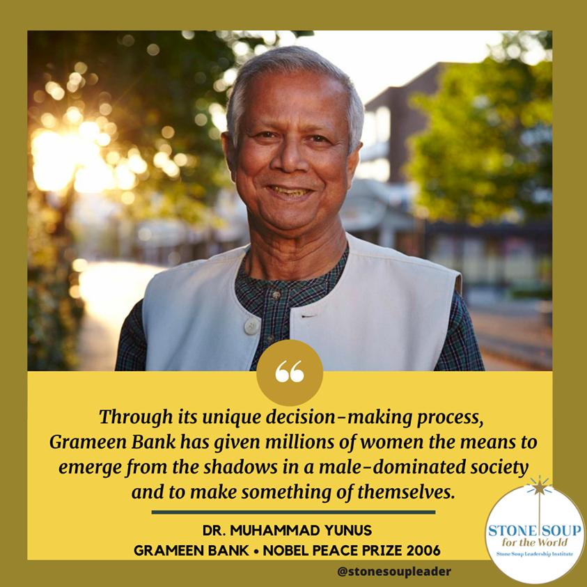 Dr Yunus quote