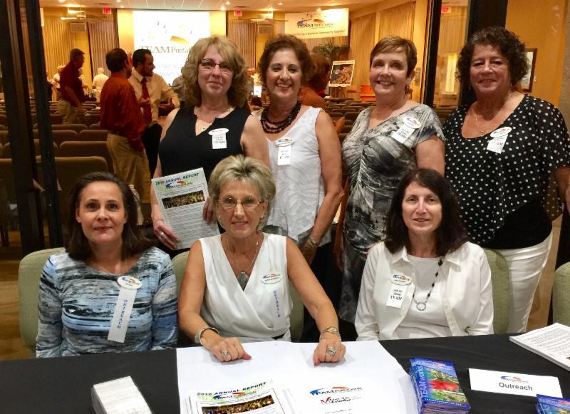 Front row left to right Lisa Dait, Betsy Spagnolo, Lisa Colgan  Back row left to right  Lori Asher, Gina Silvio-Carins ,Jan Holm,Ruth DiBene
