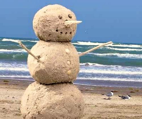 Summer Snowman