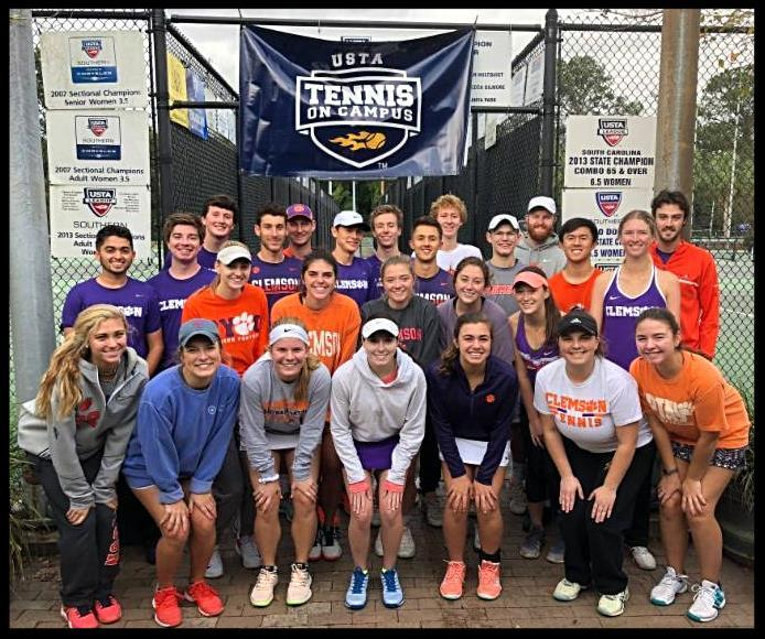63ee3452ad03 Clemson University players won the sportsmanship award for the 2nd straight  year at the state tourney. The team was named 2018 Southern Club of the  Year!