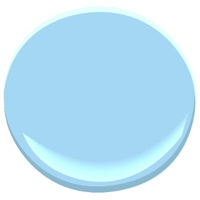 Benjamin Moore Honolulu Blue