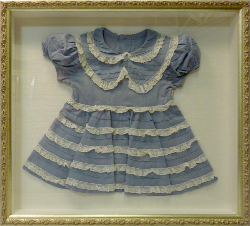 Baby Dress Shadow Box