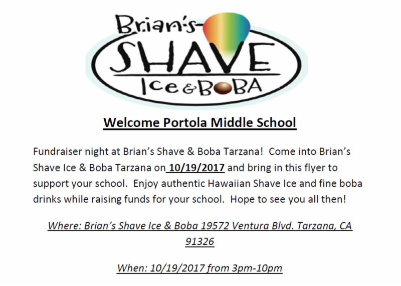 FOP Meeting Tomorrow Night, Brian's Shave Ice Fundraiser