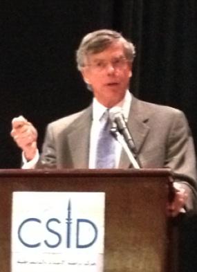 Bill Taylor speaking at CSID