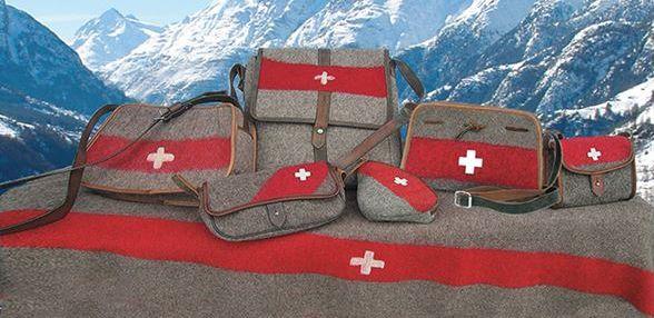 Karlen Swiss Military Blanket Bag