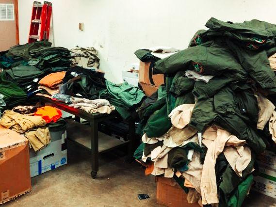 WITA Donated Uniforms
