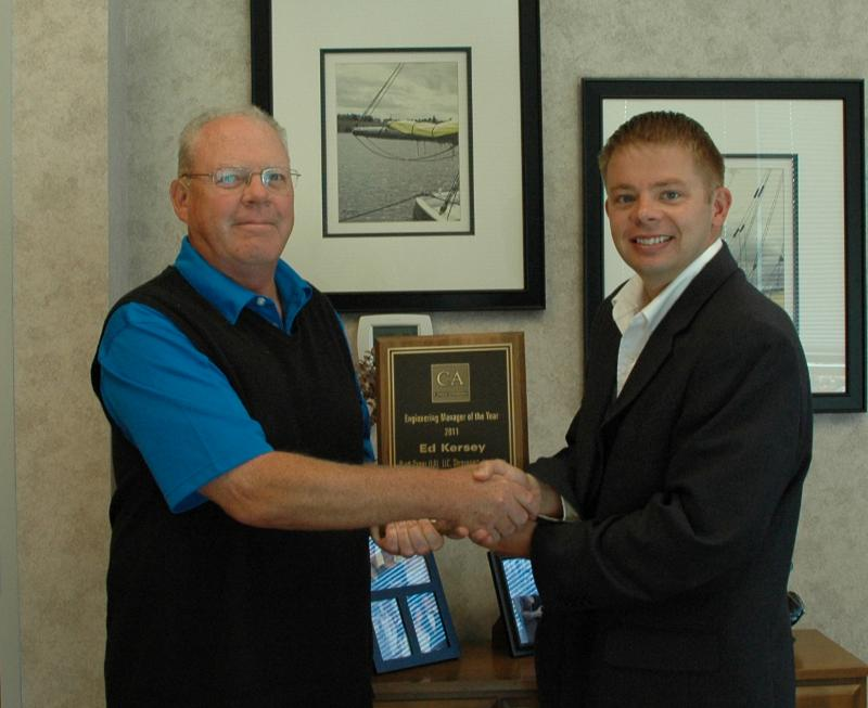 Peter Flynn and Steve Roush