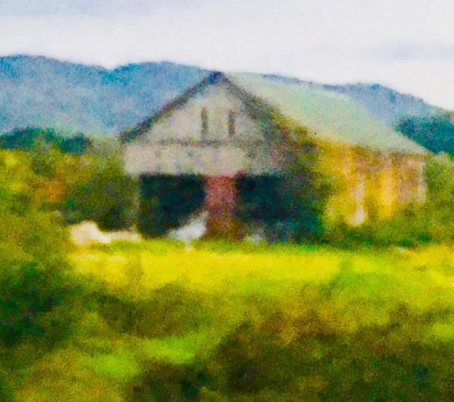 Fall Barn in New England