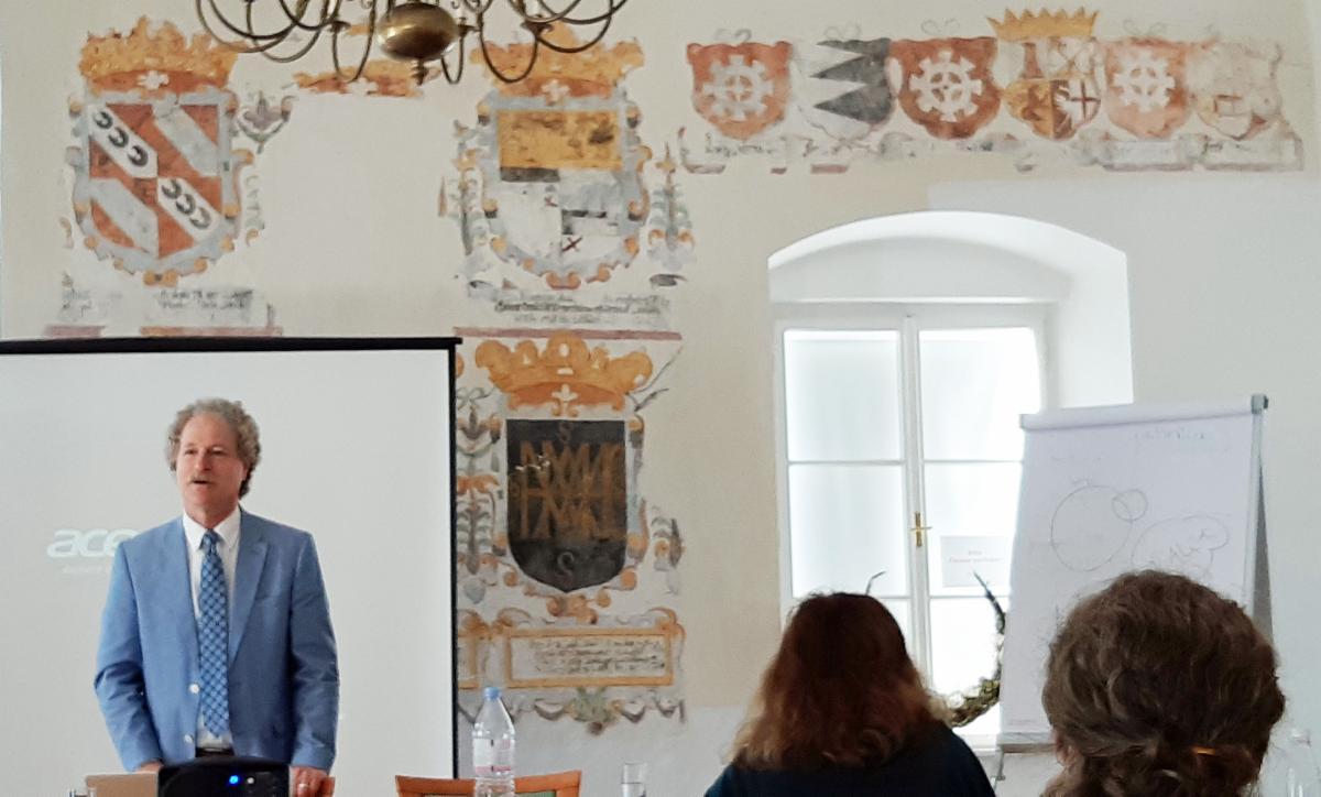 Paul Herscu teaching