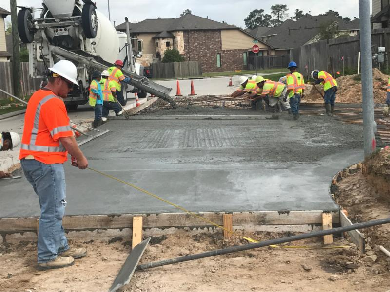 Crews working to extend  Abbey Boulevard